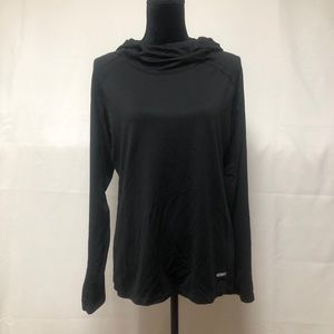 One Tooth light cowl neck hoodie